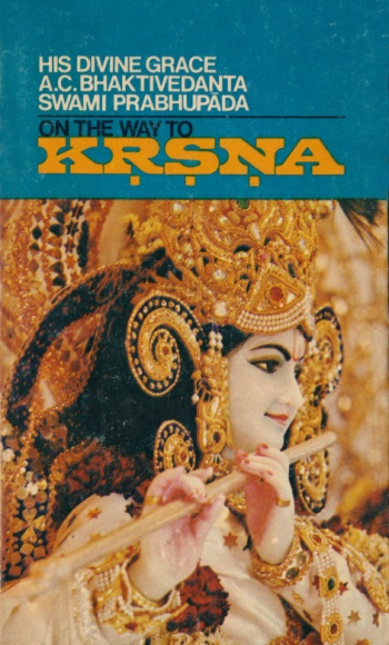 On the Way to Krsna cover