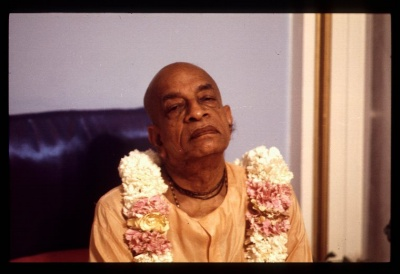 Picture of Śrīla Prabhupāda