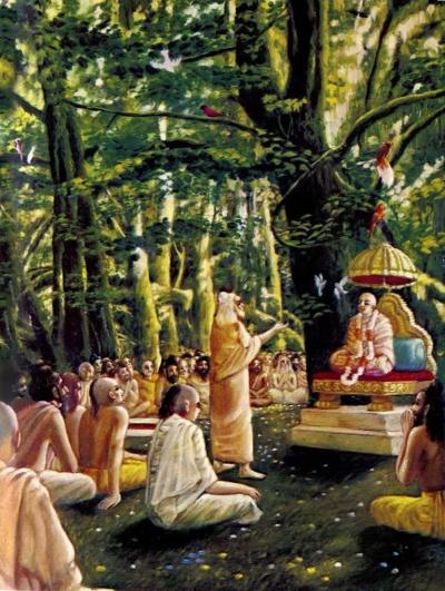 Sūta Gosvāmī and the great sages