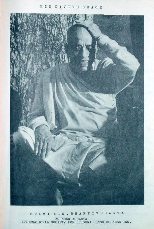 Picture of Srila Prabhupada