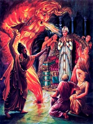 King Ambarisa cursed by Durvasa Muni