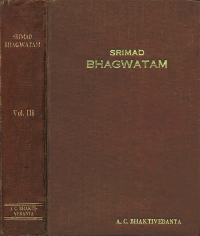 Srimad Bhagwatam cover