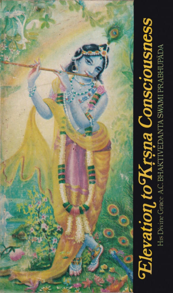 Elevation to Kṛṣṇa Consciousness cover