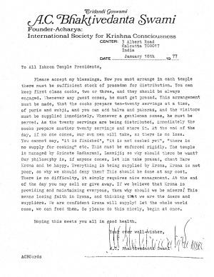 770118 - Letter to All Iskcon Temple Presidents.JPG