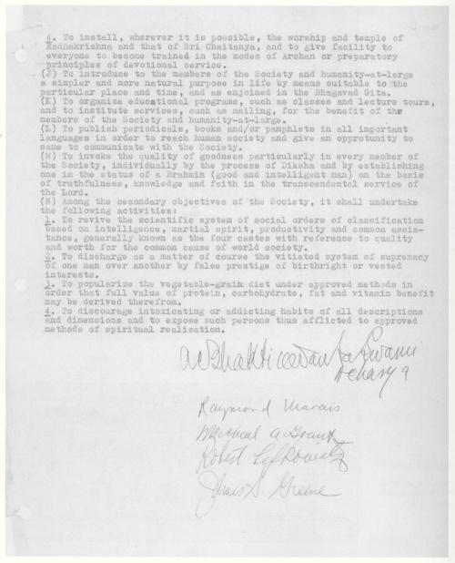 Constitution of Association