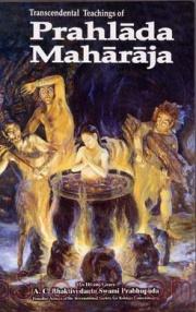 Transcendental Teachings of Prahlada Maharaja cover