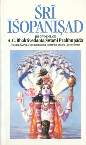 Sri Isopanisad 2001 cover